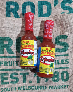 El Yucateco Res Habenero hot chilli sauce 120ml