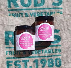 Beetroot and plum chutney 200g