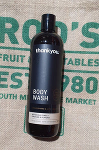 Body Wash Thank you 1litre 500ml