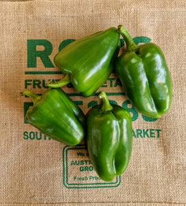Peppers- Green Small 1kg SPECIAL