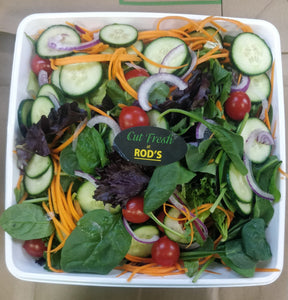 Salad- Rod's   Freshly made salad bowl(LARGE)
