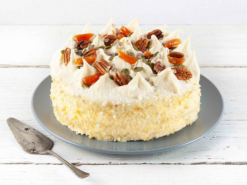 Celebration Cake - Carrot Bugsy's Cake 7inch    PRE ORDER by 12pm!