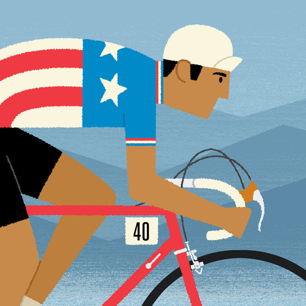 Cycling Prints, Personalised Art, National Team Jerseys
