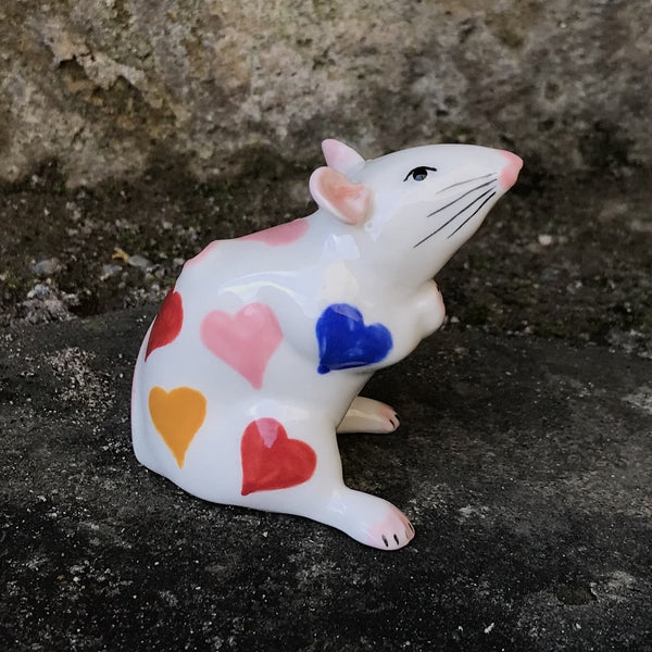 Rainbow Hearts Mouse