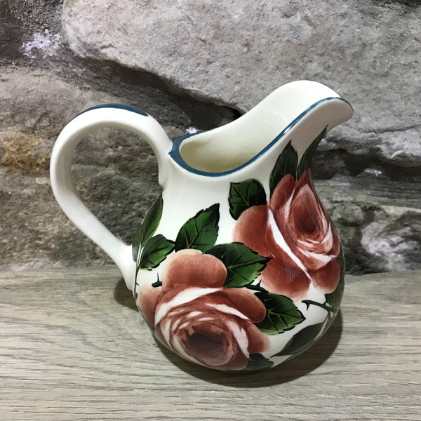 Cabbage Rose Small Round Jug