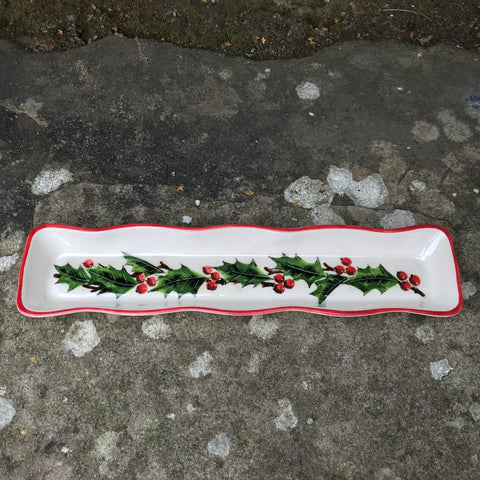 Holly Fluted Tray