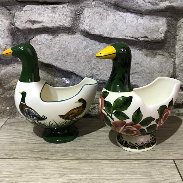 Mallard Goose Flower Holder