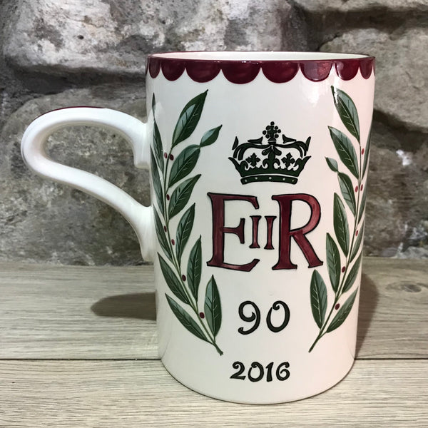 Queen Elizabeth Commemorative Large Mug
