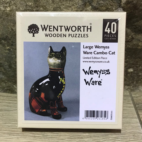 Cambo Cat Wemyss Ware Wentworth Wooden Jigsaw
