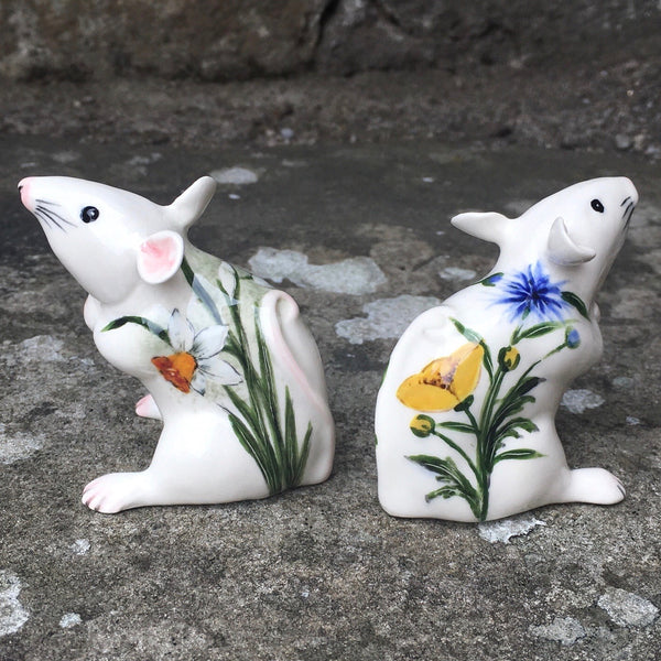 Buttercup and Cornflower Mouse