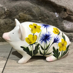 Buttercup and Cornflower Small Pig