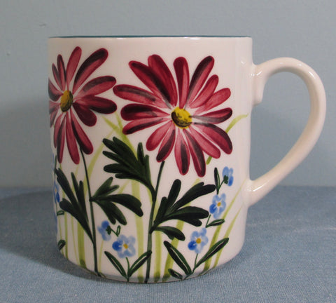 Pyrethrum and Forget Me Not Small Mug