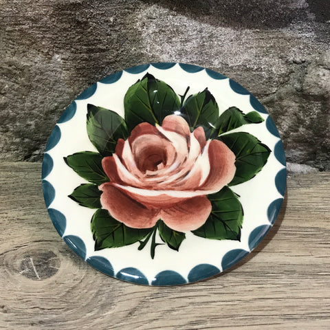 Cabbage Rose Tiny Plate