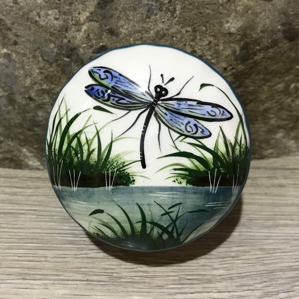 Dragonfly Small Scone Trinket Box