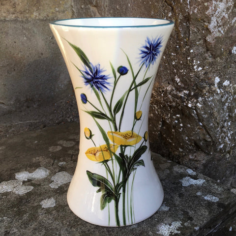 Buttercup and Cornflower Beaker Vase