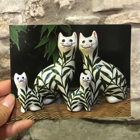 Willow Cats Postcard