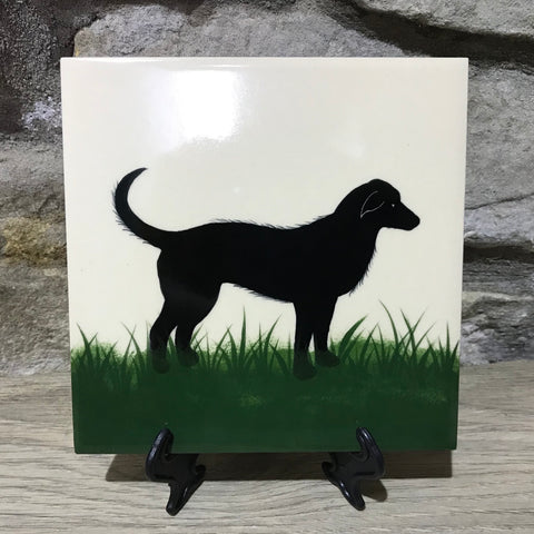Dog Large Tile
