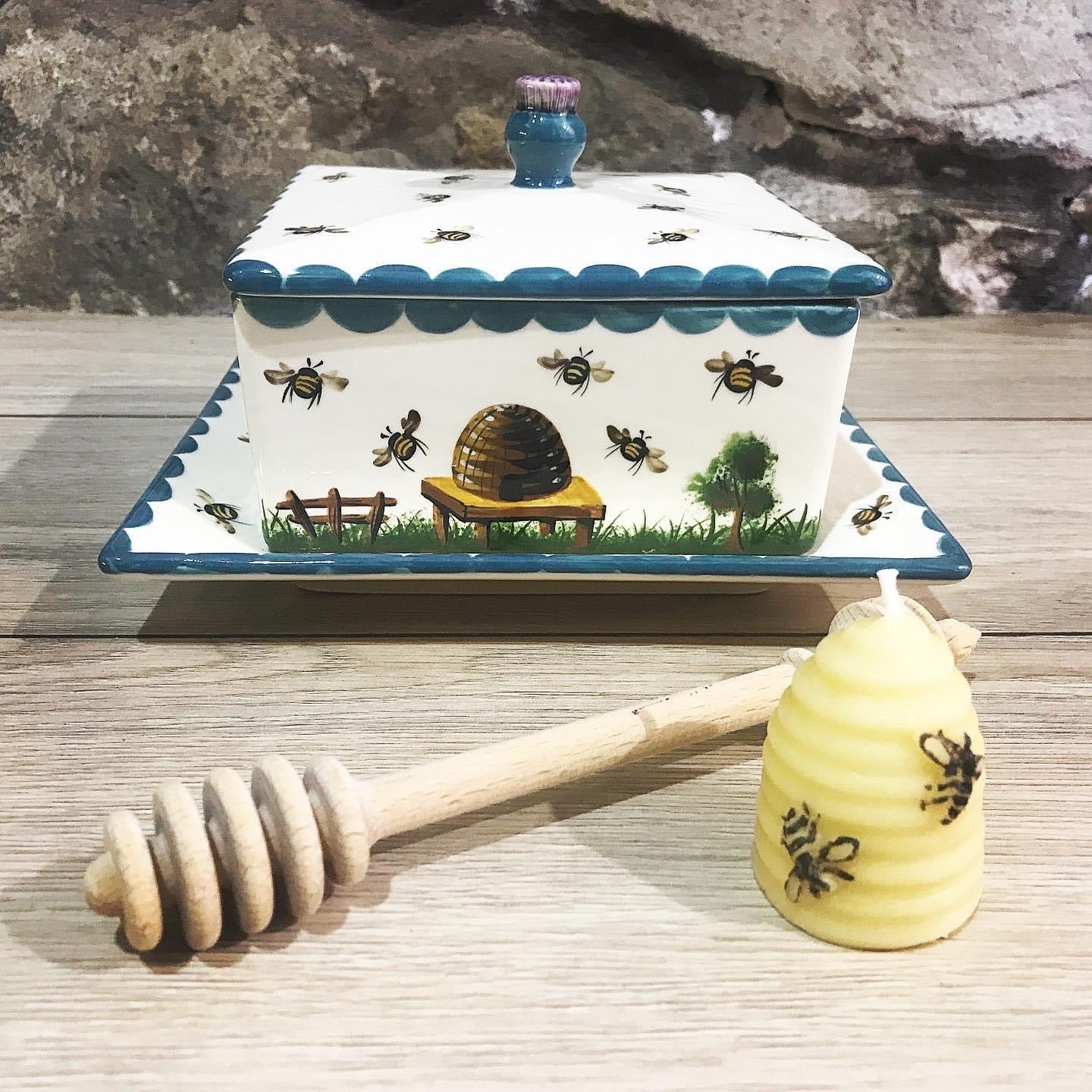 Wooden Honey Stirrer