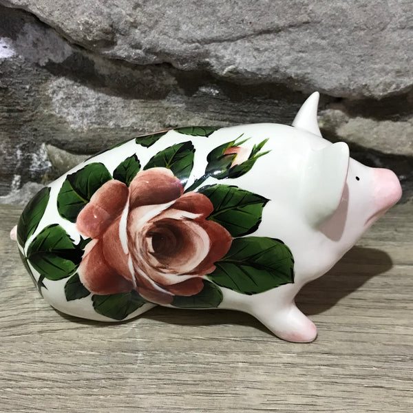Cabbage Rose Small Pig