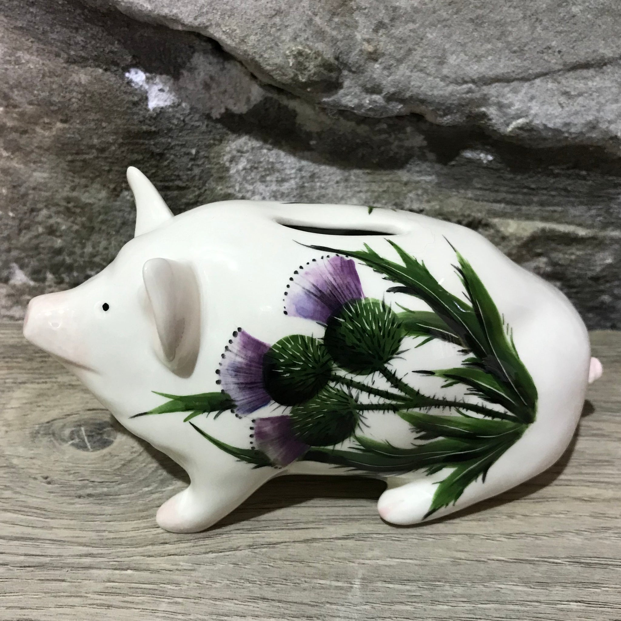 Thistle Small Piggy Bank