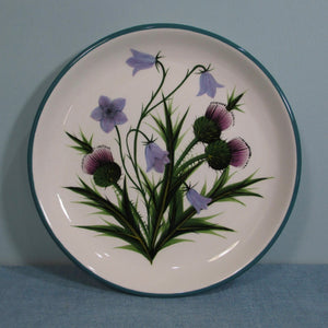 Thistle and Scottish Bluebell Small Plate