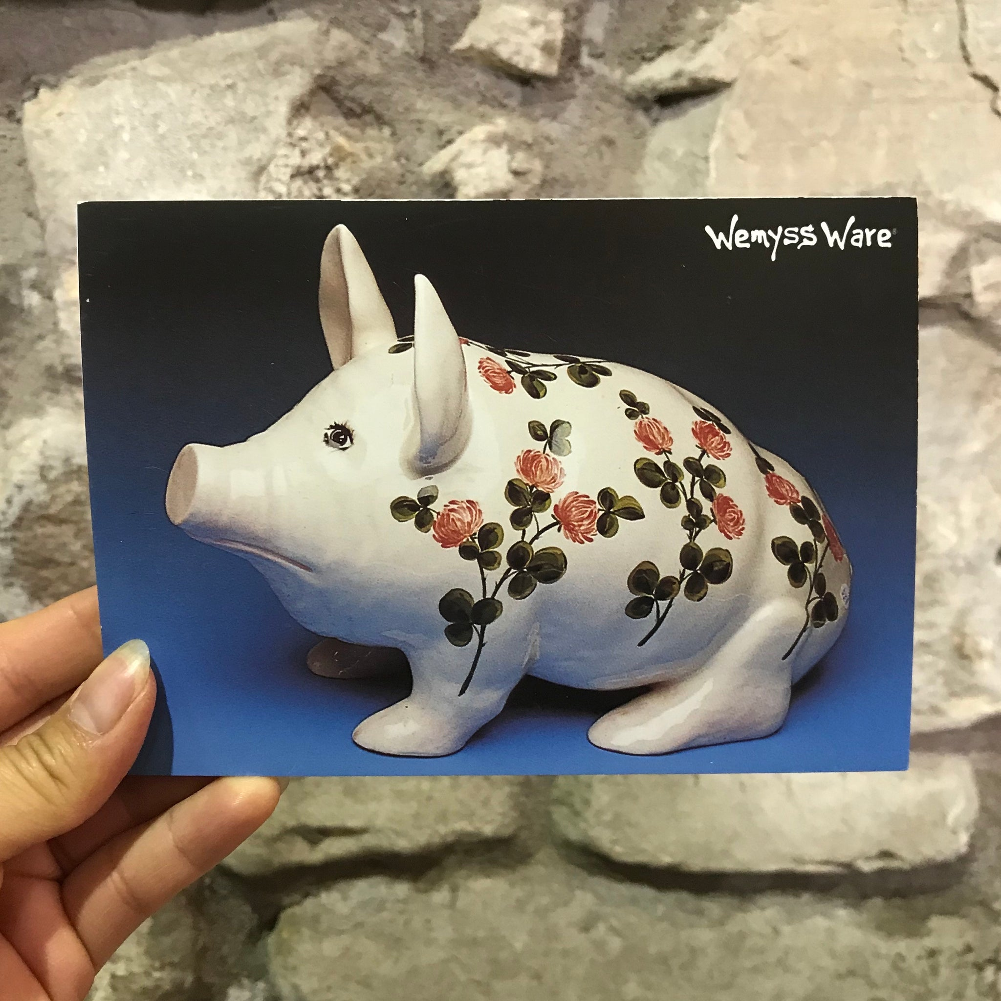 Clover Large Pig A5 Notepad