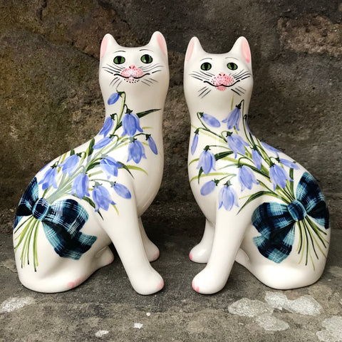 Tartan Scottish Bluebell Small Cat