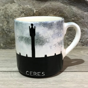 Ceres Silhouette Small Mug