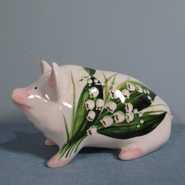 Lily of the Valley Small Pig
