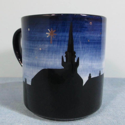 Ceres Night Sky Silhouette Small Mug