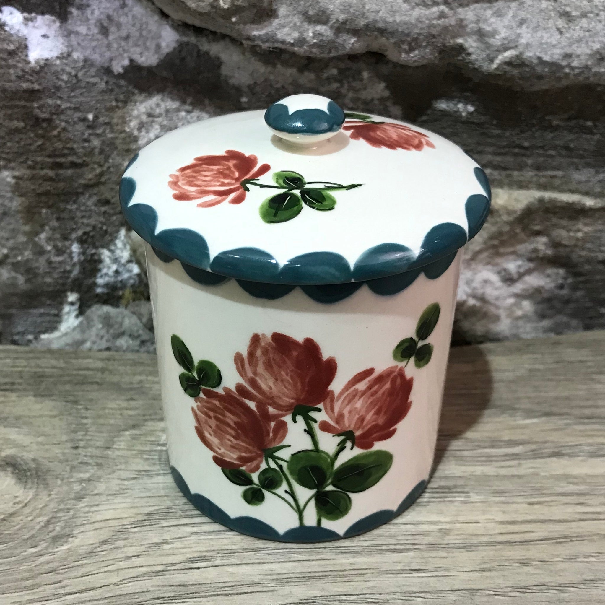 Clover Small Jam Pot