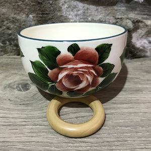 Cabbage Rose Tiny Bowl
