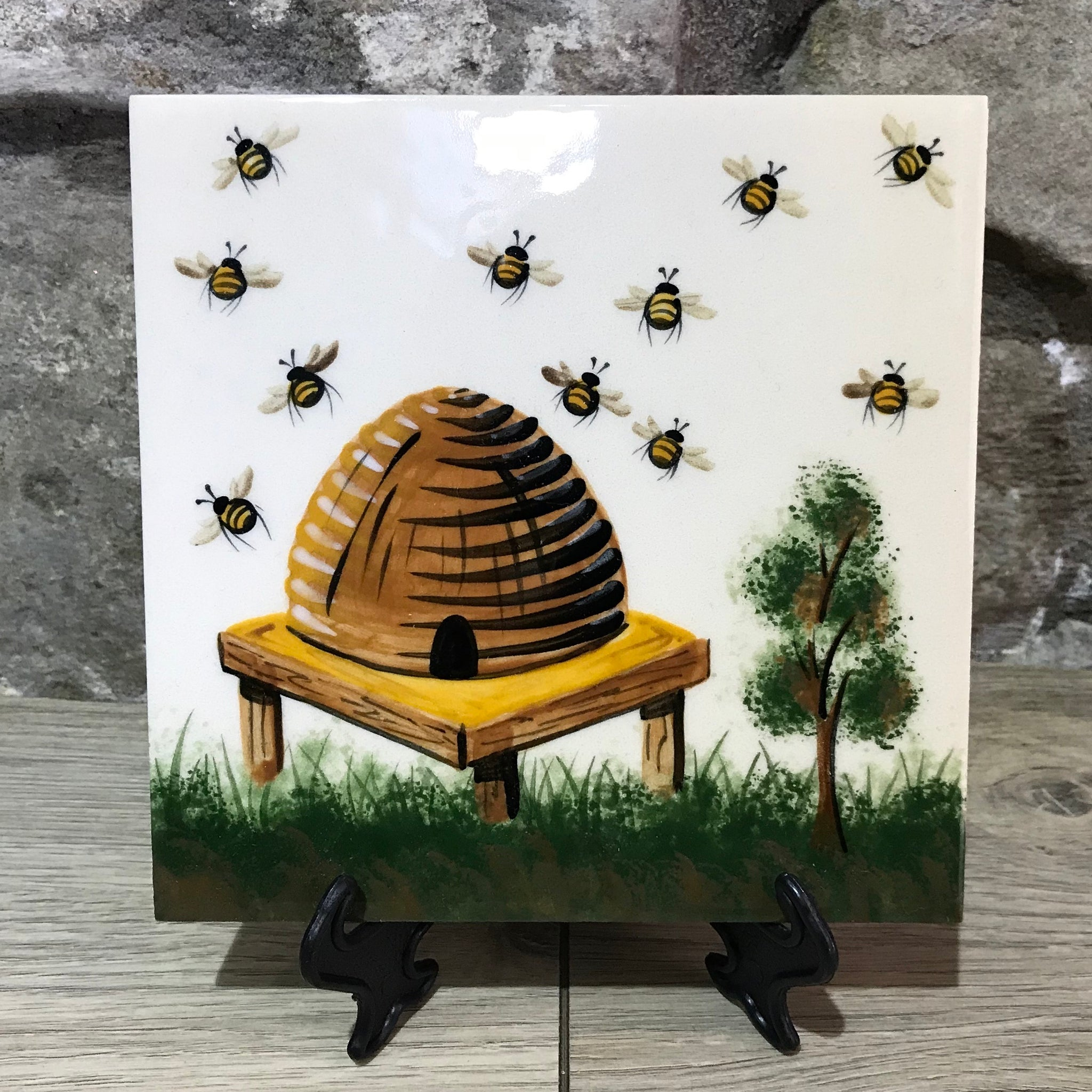 Beehive Large Tile