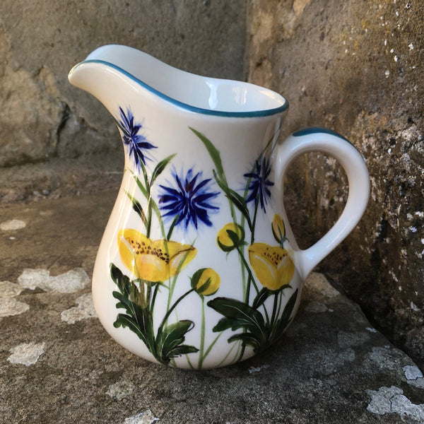 Buttercup and Cornflower Small Jug