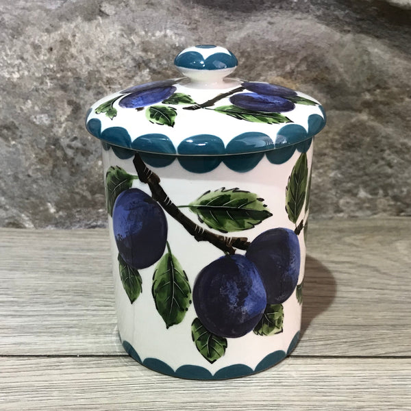 Plum Medium Jam Pot
