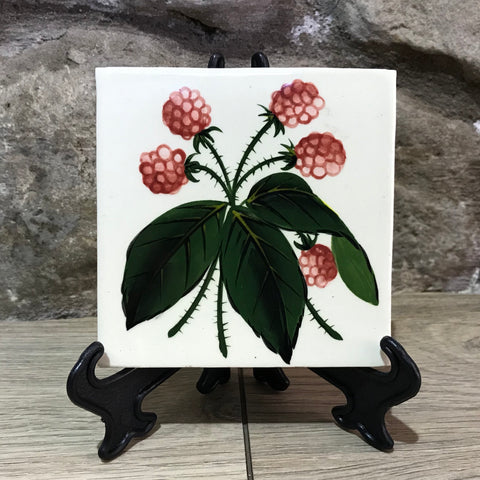 Raspberry Rustic Tile