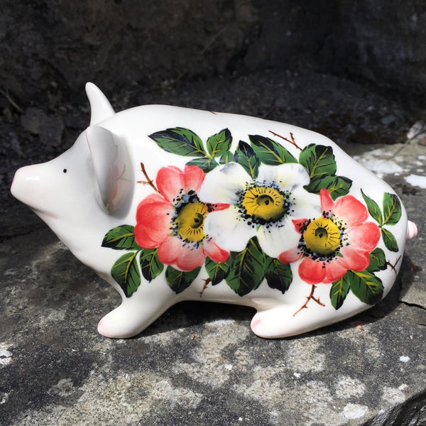 Wild Rose Small Pig