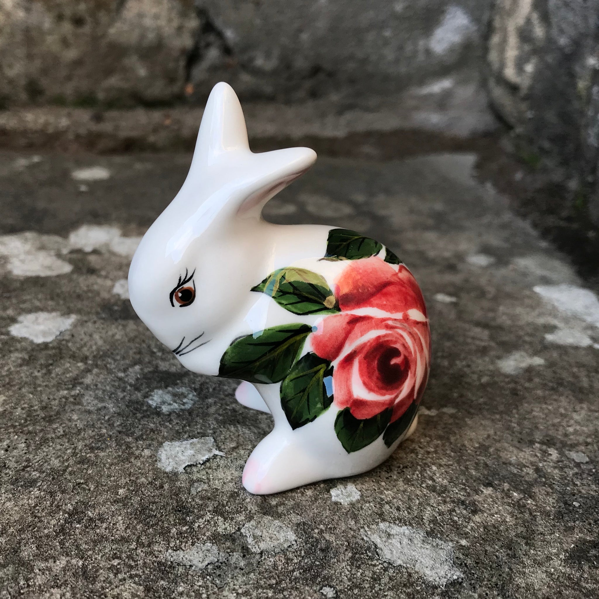 Cabbage Rose Tiny Rabbit