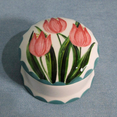 Tulip Scone Small Trinket Box
