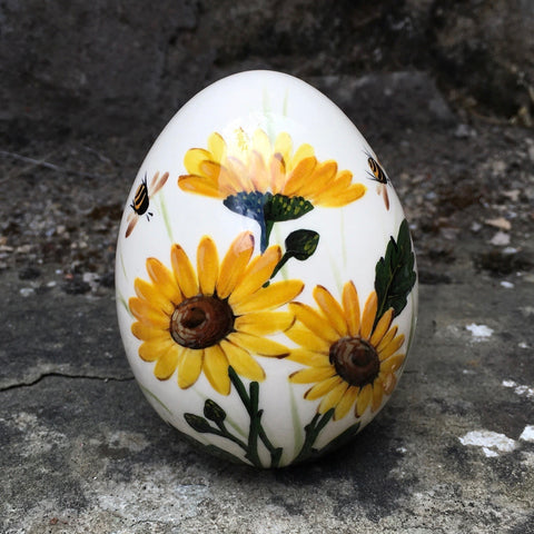 Yellow Daisy Medium Egg