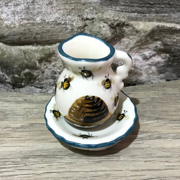 Beehive Miniature Ewer and Basin