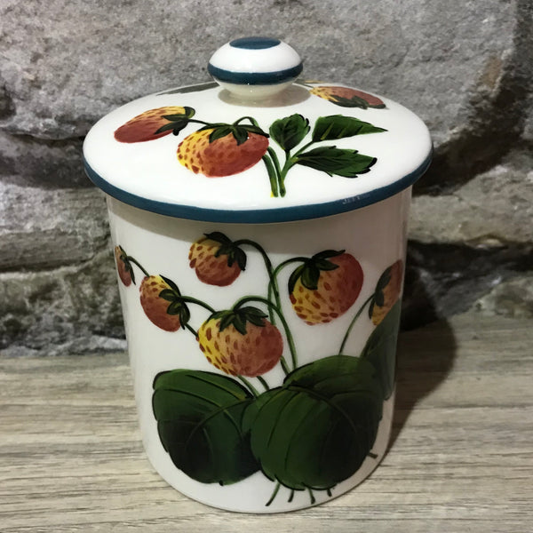Strawberry Medium Jam Pot