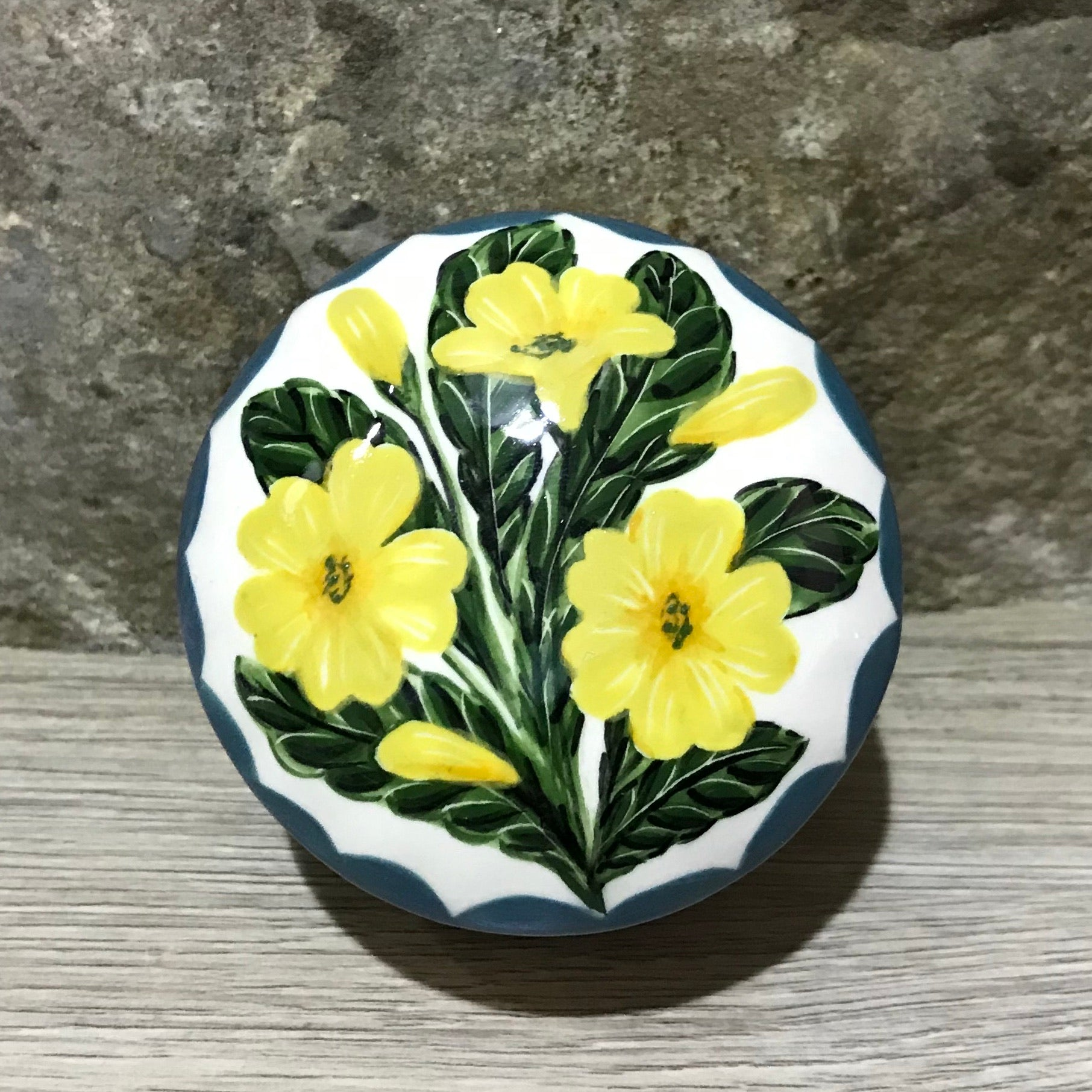 Primrose Scone Small Trinket Box