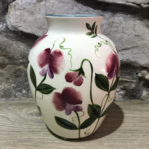 Sweet Pea Esther Vase