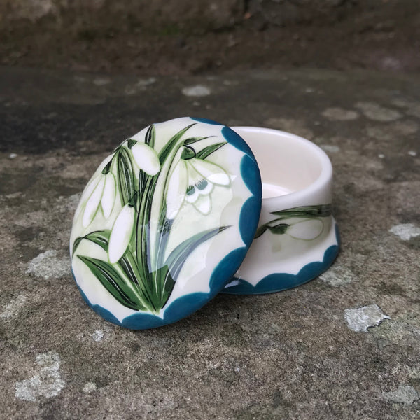 Snowdrop Scone Small Trinket Box