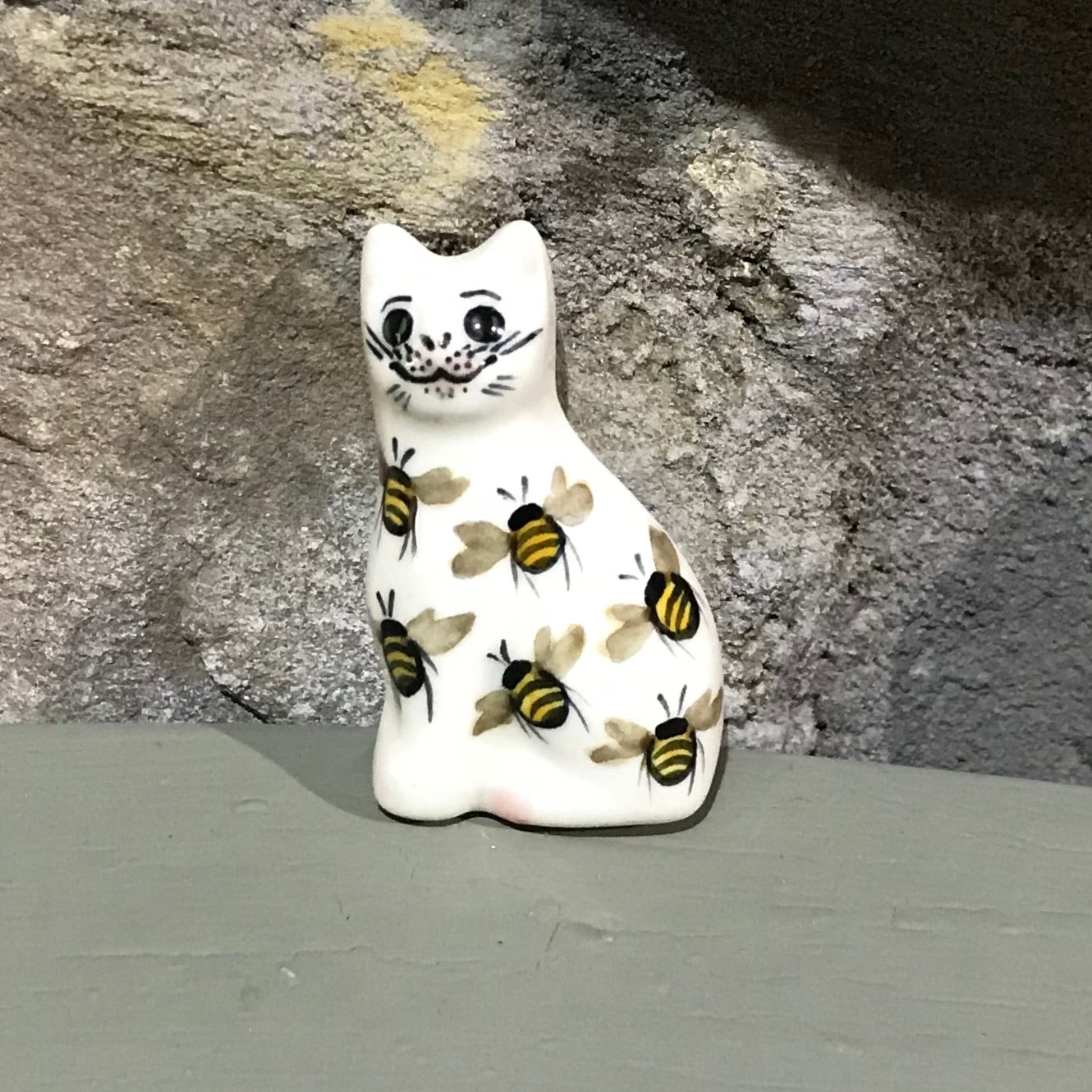Bee Cat Brooch
