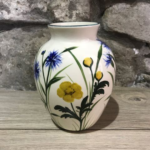 Buttercup and Cornflower Esther Vase