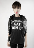 "KAT VON D ""Who the F*ck?"" t-shirt Image"