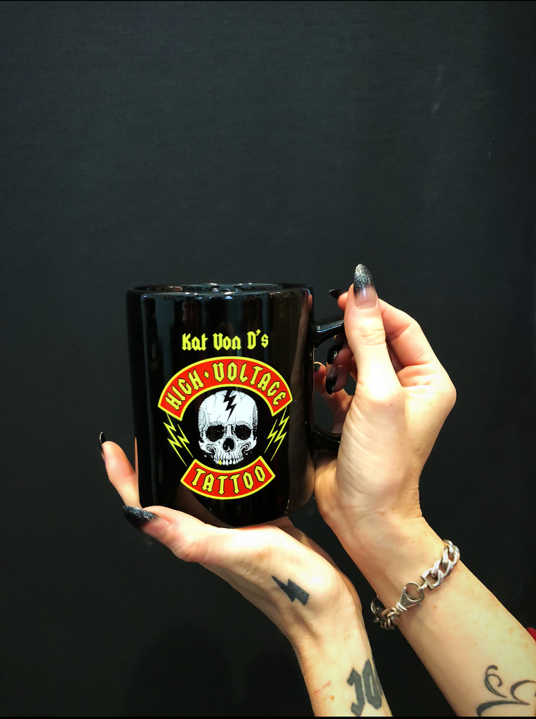 Kat Von D's High Voltage Tattoo Mug Image