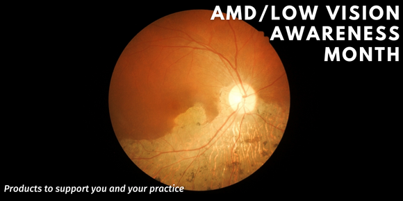 AMD and Low Vision Awareness Month - Febraury